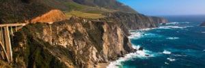cliffs over looking an ocean