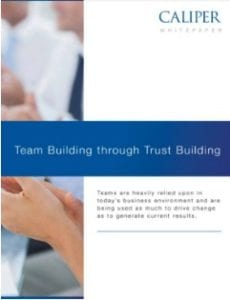 Team Building through Trust Building mockup