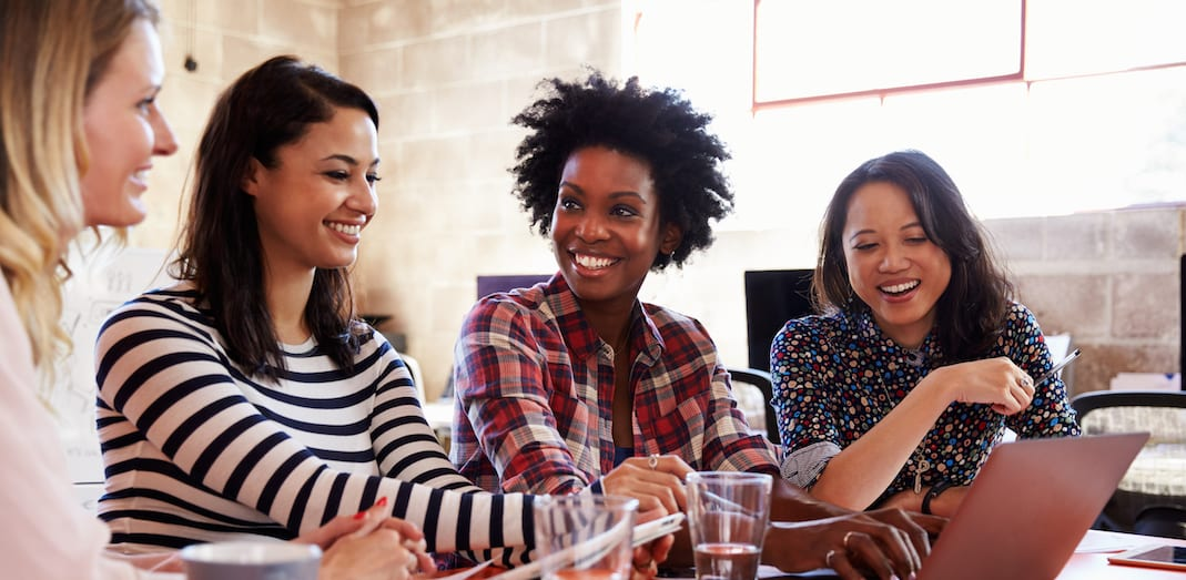 business-women-at-table