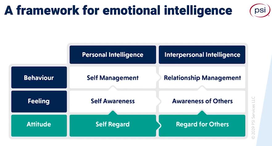 emotional intelligence framework